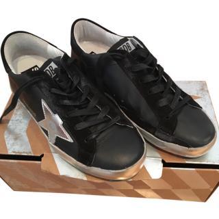 Golden Goose Black Sneakers