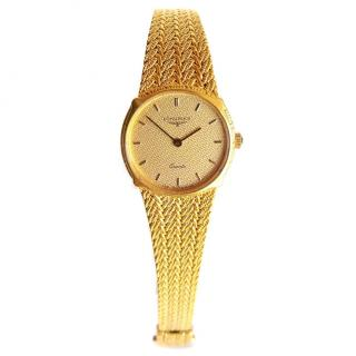 Longines 18K gold-plated Ladies Watch