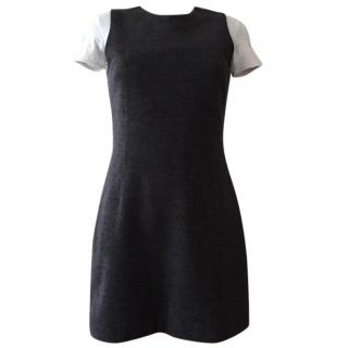 Joseph sleeveless little grey dress