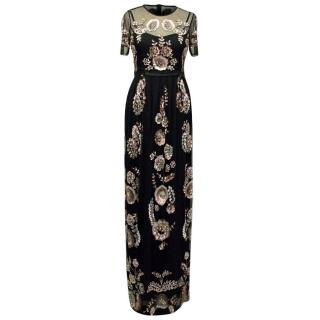 Needle and Thread Sequins Embellished Maxi Dress