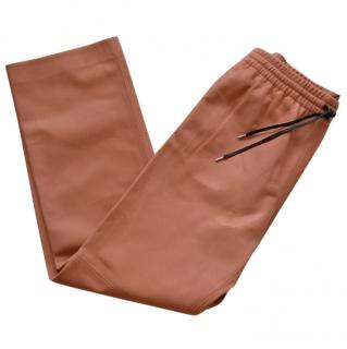 Joseph Soft Leather Trousers