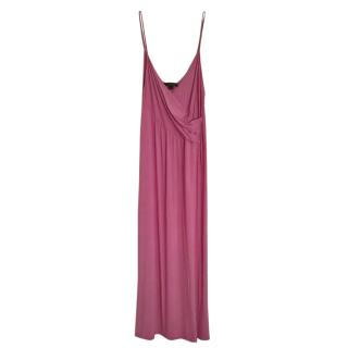 Donna Karen Pink Grecian Nightie