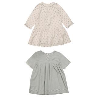 Bonpoint Girls Cotton Dresses
