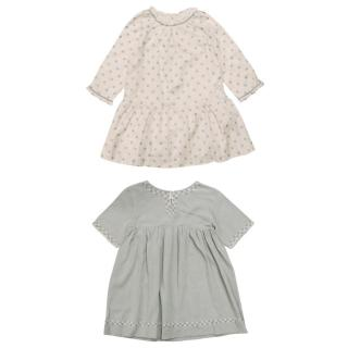 Bonpoint Girls Cotton Dresses