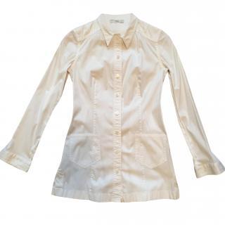 Prada White Jacket/Top