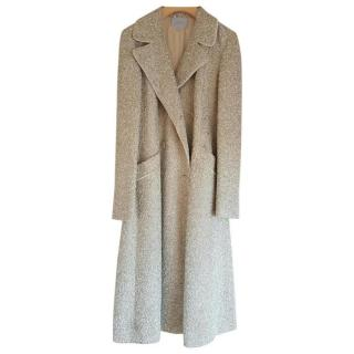 Luisa Beccaria Gold and White Coat