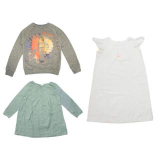 Bonpoint, Zef and Bellerose Girls Dresses and Sweatshirt