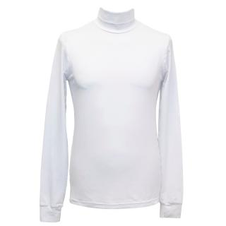 Raf Simons White Turtle Neck Top