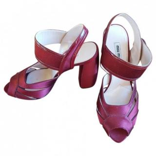MIU MIU | Leather Heels