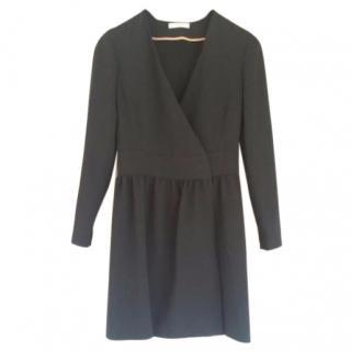 Celine Green Wrap dress
