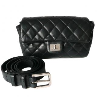 Chanel Black Quilted Bum Bag