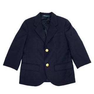 Polo by Ralph Lauren Kids Navy Wool Blazer