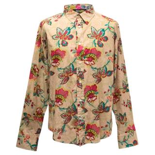 Raser Floral Patterned Shirt