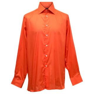 Richard James Men's Orange Shirt
