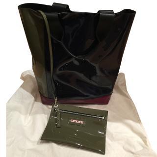 Marni Colour Block Tote Bag