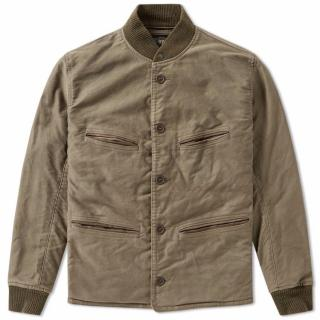 RRL Ralph Lauren cotton khaki jacket