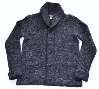 RRL Ralph Lauren cotton-wool shawl cardigan