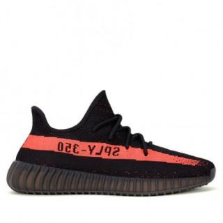 New Yeezy Boost 350 Black Red
