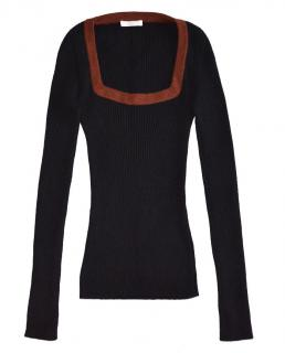 PRADA Black Wool Sweater