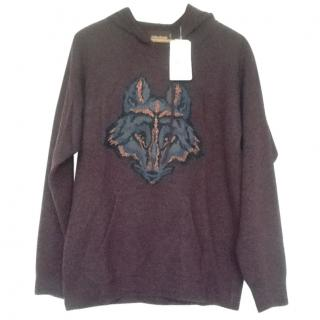 Zadig & Voltaire Merino Wool Fox Hoodie