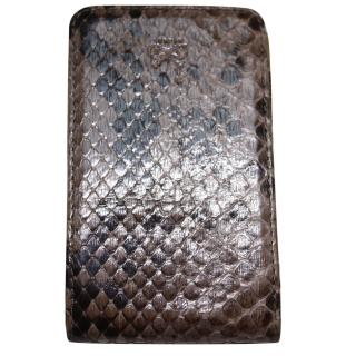Anya Hindmarch python skin phone case