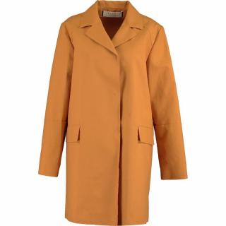 Marni Orange Cotton Coat