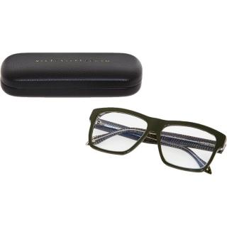 Victoria Beckham Heavy Square Olive Glasses