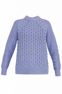 Acne lavender ruth air cable knit jumper