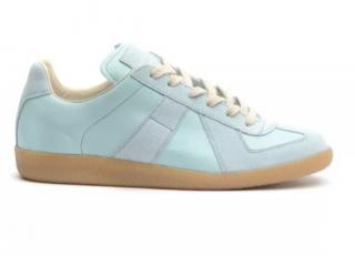 Maison Margiela Light Blue Leather sneakers