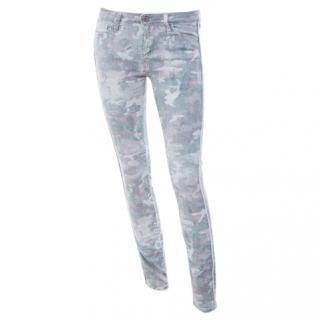 Iro Damia Camo Skinny Jeans