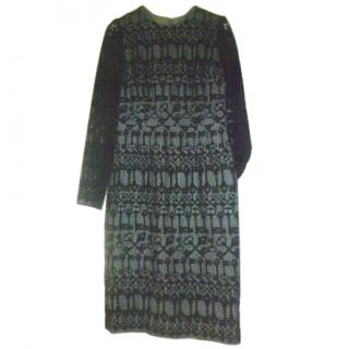 Dolce & Gabbana Lace and Silk Dress