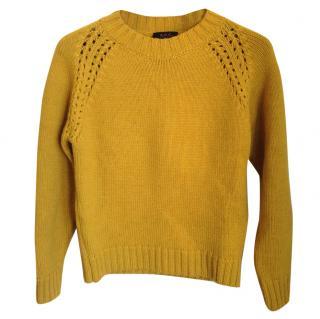 A.P.C. Yellow wool jumper