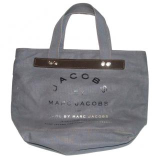 Marc By Marc Jacobs Canvas Tote in Washed Black
