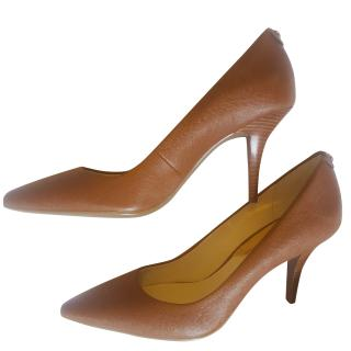 Michael Kors Tan Court Shoes