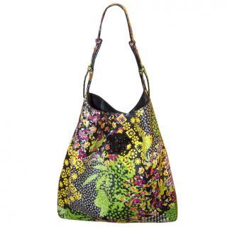 Versace Floral Print Bag