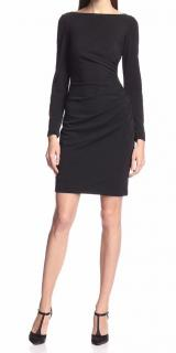 Badgley Mischka Shirred Waist Dress