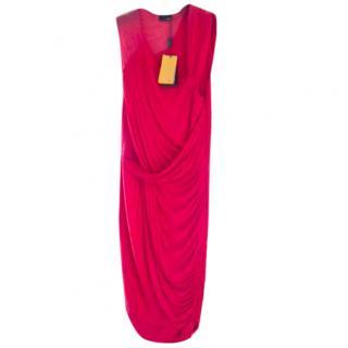 Fendi coral dress