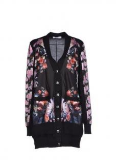 Givenchy Silk and Wool Cardigan