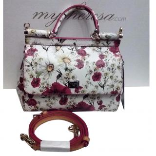 Dolce & Gabbana Miss Sicily duphine leather micro bag