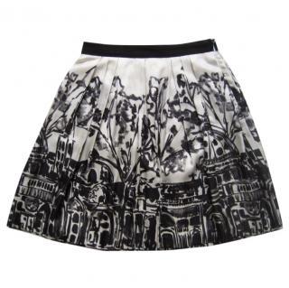 Milly Silk Skirt
