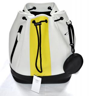 POLO Ralph Lauren colour-block leather backpack