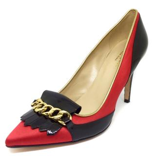 Kate Spade NY Black and Red stilettos