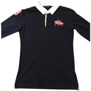 Ralph Lauren Girls Rugby Shirt