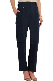 Chloe Cotton-twill track pants