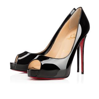 Christian Louboutin - Black New Very Prive - Size 40
