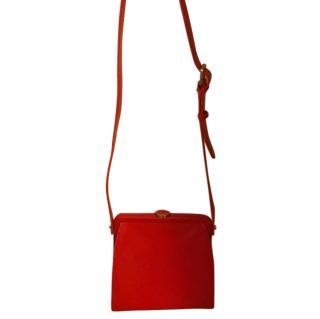 Lulu Guinness red handbag
