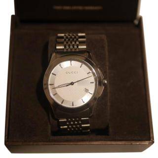 Gucci Mens Stainless Steel Watch