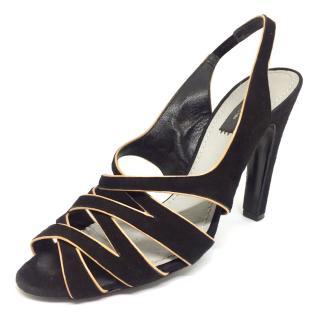 Marc Jacobs black suede Sandals