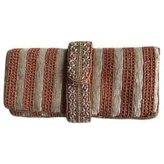 Aspinal Beaded clutch