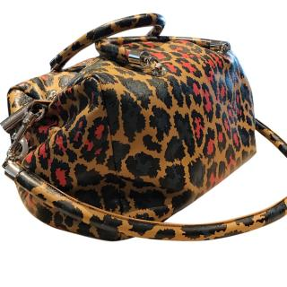 Christopher Kane Large Leopard Bag